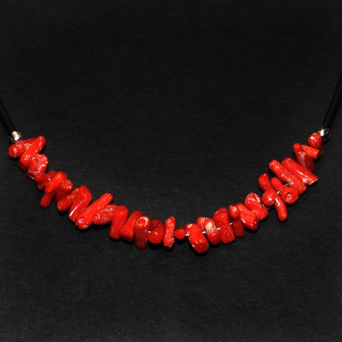 coral bracelet and caucciù